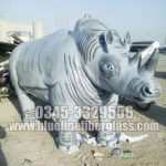 fiber rhino - Fiberglass animals statues sculptures monuments karachi pakistan