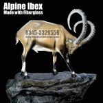 Alpine ibex by Blue Line Fiberglass