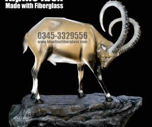 Alpine ibex by Blue Line Fiberglass