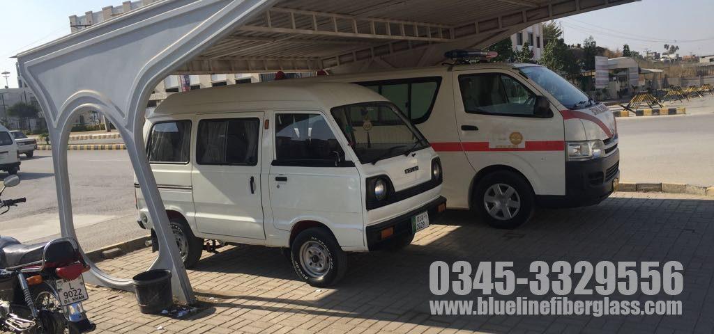 Car Parking Shade Karachi Pakistan