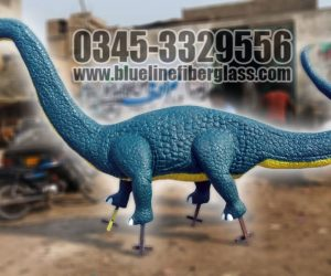 Dinosaur statute fiberglass sculptures monuments karachi pakistan