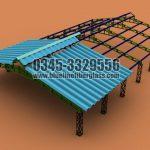 Fiberglass Shade by Blue Line Fiberglass