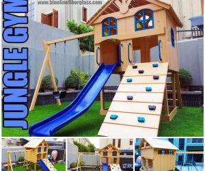 JUNGLE GYM KIDS MULTI PLAY UNIT MS Garden Swing and Slide Set