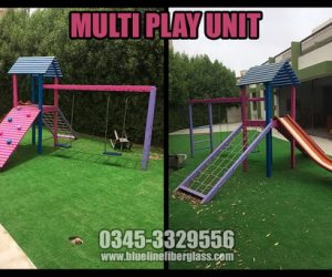 KIDS MULTI PLAY UNIT MS Garden Swing and Slide Set