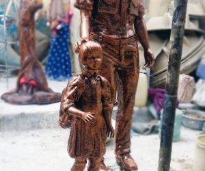 Navy Sailor statute fiberglass sculptures monuments karachi pakistan