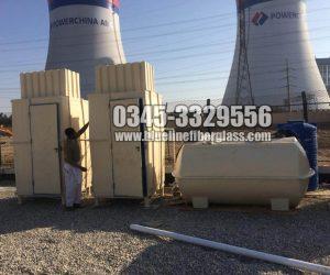 Portable toilet washroom guard room porta cabin Karachi Pakistan porta potty mobile home fiberglass rooms