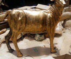 fiberglass animal statue 2 sculptures monuments karachi pakistan