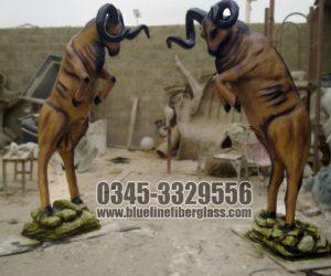 fiberglass animal statue sculptures monuments karachi pakistan