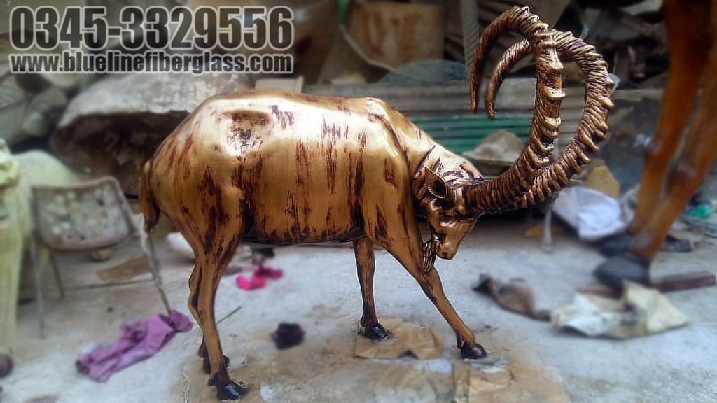 Fiberglass Life Size Animals Sculpture Statue Monument