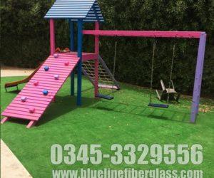 KIDS MULTI PLAY UNIT Garden Swing and Slide Set
