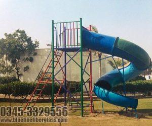spiral tunnel slide for kids