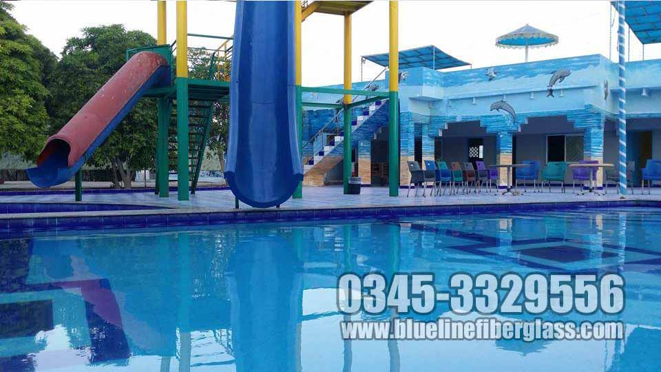 Blue line fiberglass playground equipments swing slides - Metropolitan swimming pool karachi ...