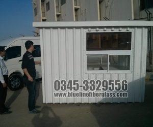fiberglass room Porta Cabin or Guard Room prefab room Manufacturer in Pakistan