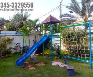 multiplay unit 2 - swing slide - kids playground equipment