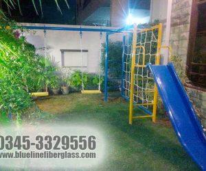 multiplay unit 3 - swing slide - kids playground equipment
