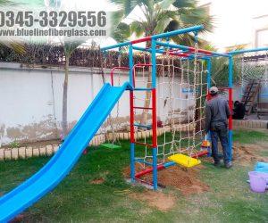 multiplay unit 4 - swing slide - kids playground equipment