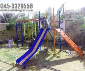 multiplay unit 6 - swing slide - kids playground equipment