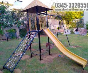 Kids Playground Equipment - swing slide rope climber play gym - Karachi Pakistan