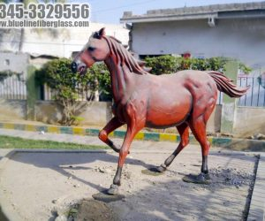 horse fiberglass statue sculptures monuments karachi pakistan