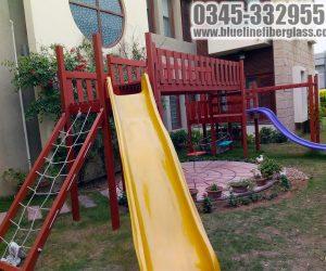 kids playground equipmet 3 - Jungle Gym - Blue Line Fiberglass Karachi Pakistan