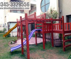kids playground equipmet 4 - Jungle Gym - Blue Line Fiberglass Karachi Pakistan