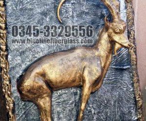 3D Wall Painting Fiberglass statue sculptures karachi pakistan
