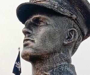 Pakistan Naval Academy Cadet Monument fiberglass statue sculptures karachi pakistan