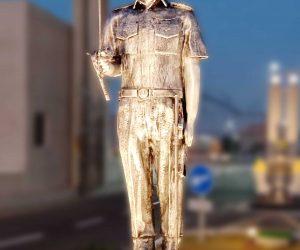 Pakistan Naval Academy Cadet Monument fiberglass statue sculptures karachi pakistan 5