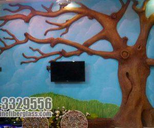 Tree Fiberglass indoor statue sculptures karachi pakistan
