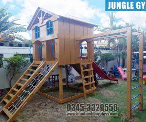 Jungle Gym 2 KIDS MULTI PLAY UNIT Garden Swing and Slide Set