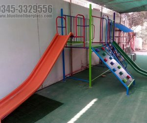 indoor playgym for kids - Blue Line Fiberglass - Karachi Pakistan