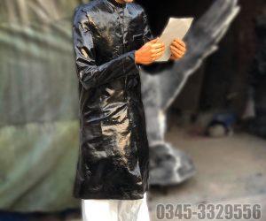 quaid e azam sculpture - Blue Line Fiberglass - Fiberglass animals statues sculptures monuments karachi Lahore Pakistan