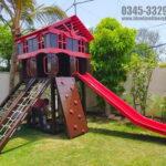 Jungle Gym 4 KIDS MULTI PLAY UNIT Garden Swing and Slide Set