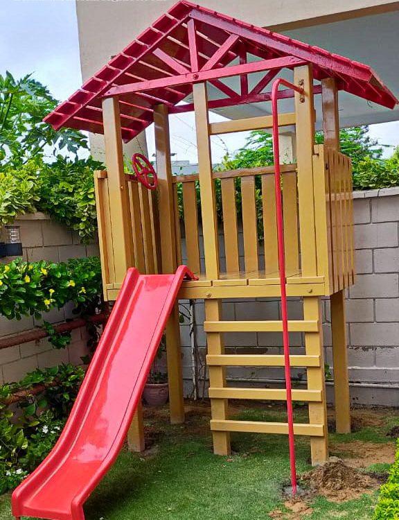 Jungle Gym KIDS MULTI PLAY UNIT Garden Swing and Slide Set