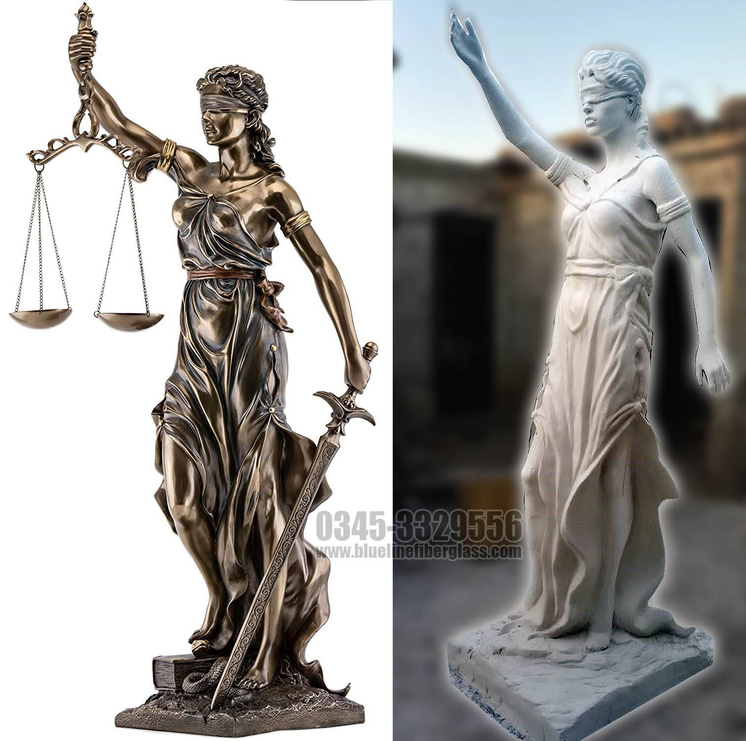 Creating Replica of Lady Justice