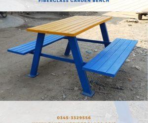 Garen Bench Blue Line Fiberglass Karachi Pakistan