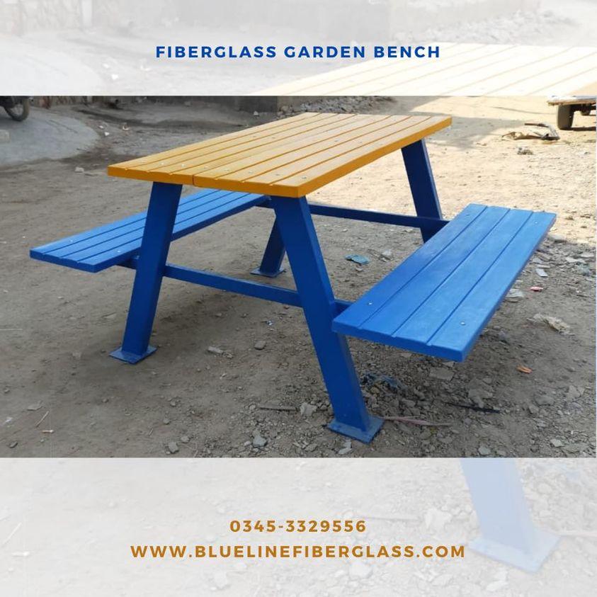 Fiberglass Garden Bench