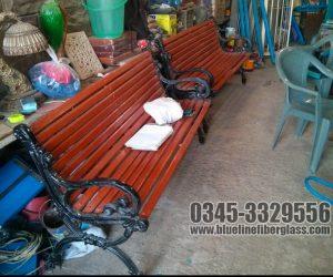 Garden Bench Garden Furniture Blue Line Fiberglass Karachi Pakistan (12)