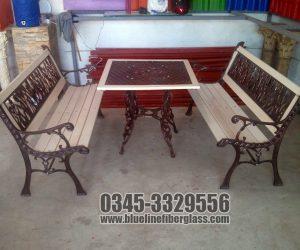 Garden Bench  Garden Furniture outdoor furniture Blue Line Fiberglass Karachi Pakistan